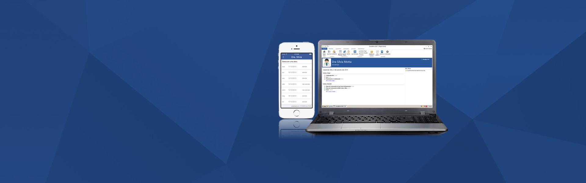 Sistema de Gerenciamento para Consultório (software médico) possui agenda médica online